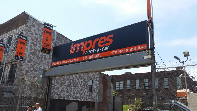 IMpres rent a car